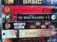 Have 8 VHS movies just sitting around, ready to sell.