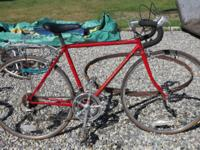 I have 8 complete lugged steel frame bike boom bikes