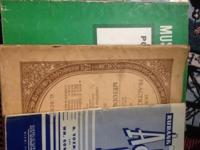 Selling 8 vintage music books, copyright 1940 to 1954.