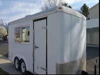 8 X 16 Enclosed Cargo Trailer, Food Trailer or Bug out
