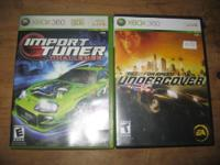 I have 8 games for Xbox 360. $5 each, $40 for all.