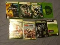 I have 8 xbox 360 video games for sale ... Some have