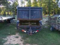 Selling 8 Yard Dump Trailer for $4,500.00. Very Good