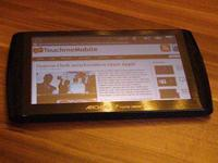 Nice slim Archos 7 in Android Tablet with front