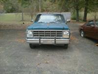I would like to sell my 1980 long wheel base silverado.