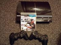 This PS3 is in amazing condition and has never had any