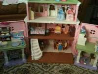 I have a loving family grand dollhouse. great condition