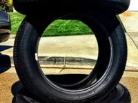 I am selling 3 All-season Goodyear Eagle tires that are