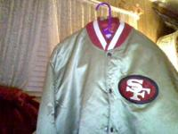 I've got the jacket every 49er fan want 1980-1990's