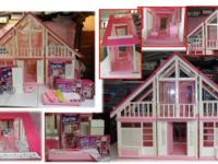 I am selling my Barbie Doll House and several