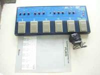 1980's metal cased PUE5 multi effects board. Has