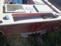 we have a nice bassboat hull/and nice trailer.....i