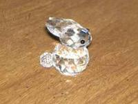 This is a Swarovski Crystal Rabbit Variation #2. It was