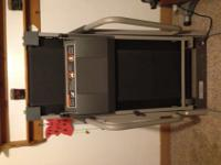 Treadmill for sale. Weslo Cadence C42. This treadmill