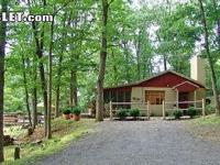 THE HARMISONS COTTAGE INN THE WOODS. Has one bed room,