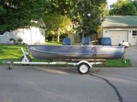 15ft Alumicraft aluminum boat for sale. -New floor -New