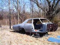 I have for sale a 4-door 1967 Chevy Bel Air body, from