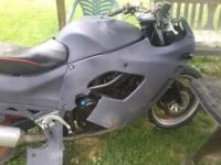 Bike runs perfect I layed it down tore fairings and