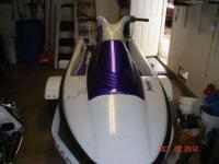 93 yamaha two seater waverunner,lots of upgrades,ski