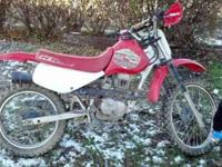 I have for sale. A 2000 honda xr 100 , my daughter is