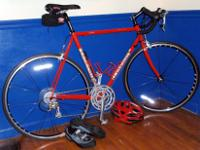 "2002 Greg Lemond ""Buenos Aires"" 57cm bike in excellent"