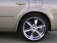 I have 22 inch (22x9.5) Cattivo 726 Chrome Rims with