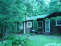 Northwoods Lake Cottage for rent at $800 per week. Just