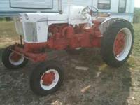 For Sale 800 Case Tractor Propane fuel. Good honest
