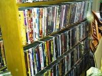 I am selling my collection of dvd backups. that's
