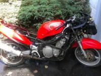 2000 Suzuki Katana 600- great starter bike or