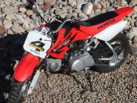 2006 Honda CR50F6 new star cross tires and basic tune