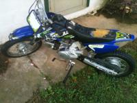 I am selling my baja 70 pit dirt bike. It runs great