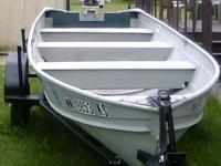 Alum. 14 ft. Ryan Craft boat (Great Deal) with 5 1/2