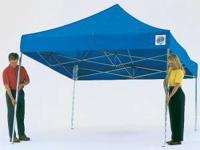 SPECIAL 10 x 20 E-ZUP Event Canopy Blue W Sidewalls