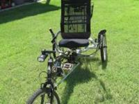 For sale Recumbent TrikeThe EZ-3 USX HD provides all