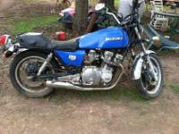 I have a 1980 Suzuki it runs great but it needs some
