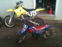 This is a suzuki rm100 i bought the bike blowen up and