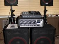 I have a complete 800 Watt PA Speaker System with