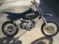 I have a Yamaha PW80 4stroke Dirt Bike for sale but