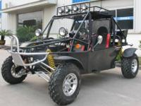 The 800cc Super Warrior 4 Stroke Go Kart Takes the Go