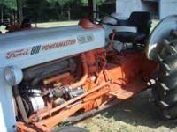 I have an 801 Ford tractor for sale, power steering,