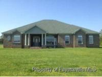 -Over 9 acres! Custom brick hm w/3bdrm,2.5bth,frml
