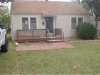 Wichita KS 2 Bedroom 1 Bath Home Available For Lease To