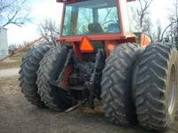 1984 8070 Allis Chalmers only has 5691 hours on it.