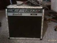 This is an awesome 80s amp used in the studio by bands