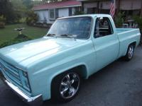 Ground up custom built 1981 Chevrolet C10 pickup Heat &