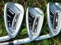 I have a barely used set of Ping i20s, golf digests