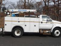 2007 FORD F650 SD; CAT C-7 6 CYL DIESEL (230 HP); AUTO