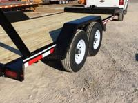 New 2014 Loader Toter ( Bobcat) 81x18' Dovetail