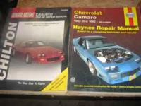 1 General Motors & 1 haynes repair manuales you can get